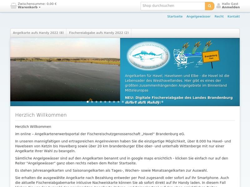 Screenshot von http://angelkarten.com
